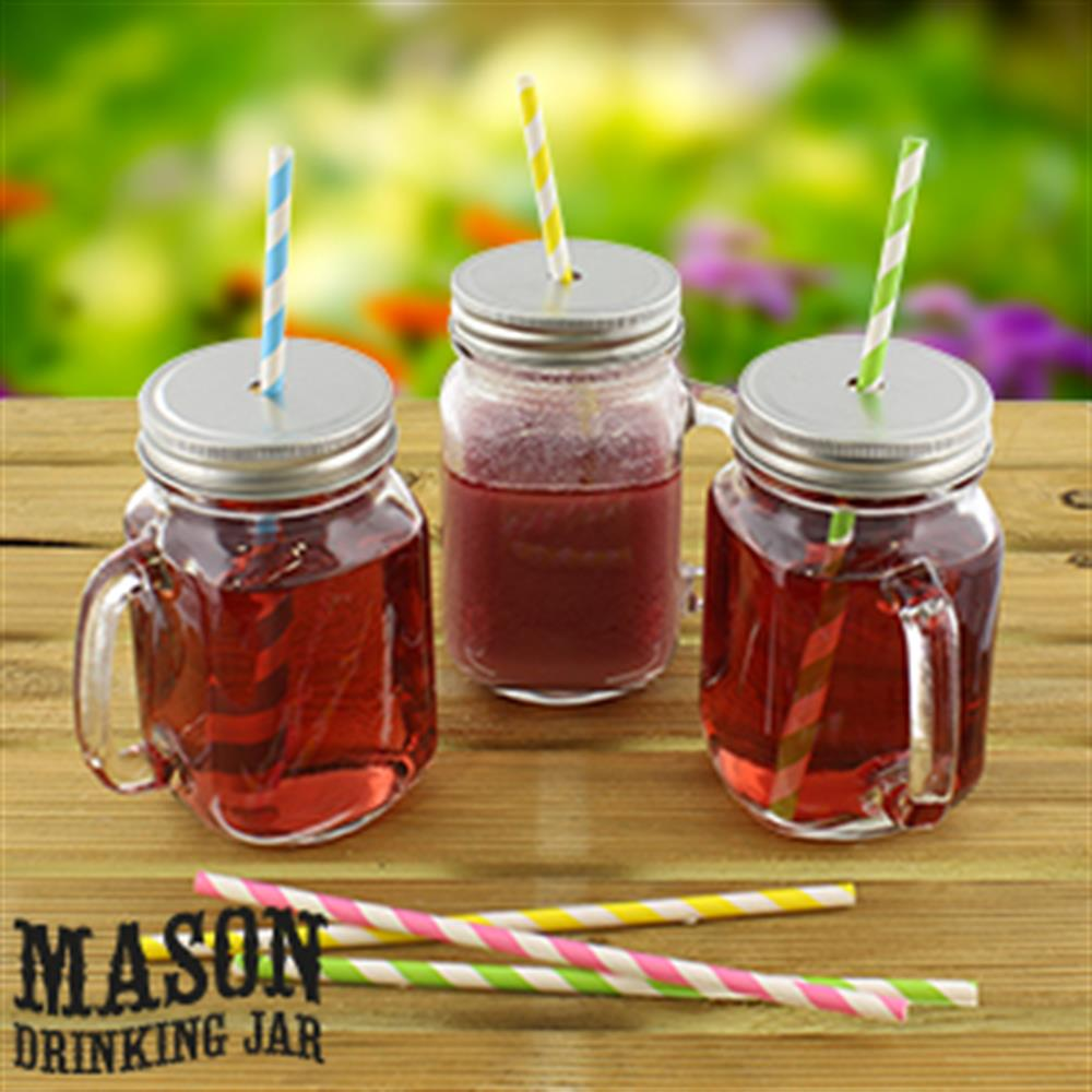 Picture of Mason Glass Drinking Jar (Case of 24)