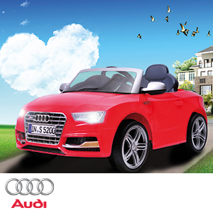 Buy Audi S Cabriolet Electric Ride On Car At Home Bargains - Audi 6v ride toy cars