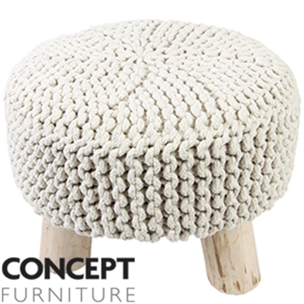 Picture of Concept Furniture Knitted Foot Stool