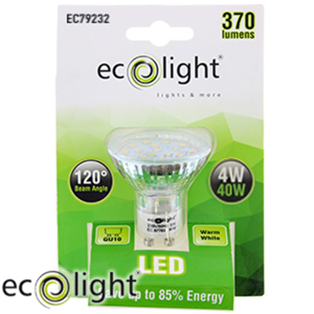 Buy Ecolight LED Bulb: GU10 Warm White