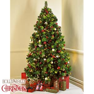 picture of norwegian spruce traditional christmas tree 7ft - 7 Ft Christmas Tree