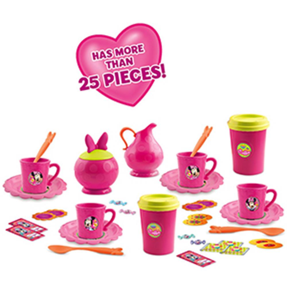 Buy Disney Minnie Mouse Coffee Play Set At Home Bargains