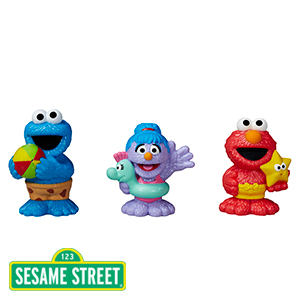 Buy Sesame Street Furchester Hotel Bath Squirters At Home