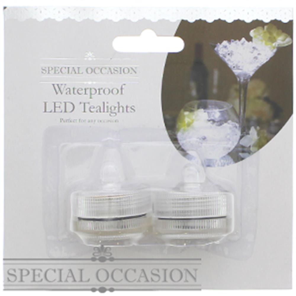 Picture of Special Occasion: Flameless Waterproof LED Tea Lights (Case of 96)