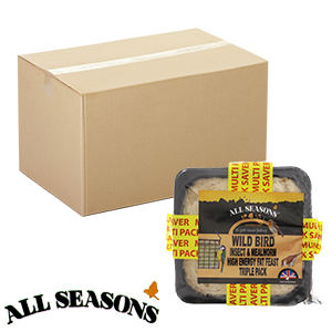 Picture of All Seasons Wild Bird Insect & Mealworm Fat Feast x 12