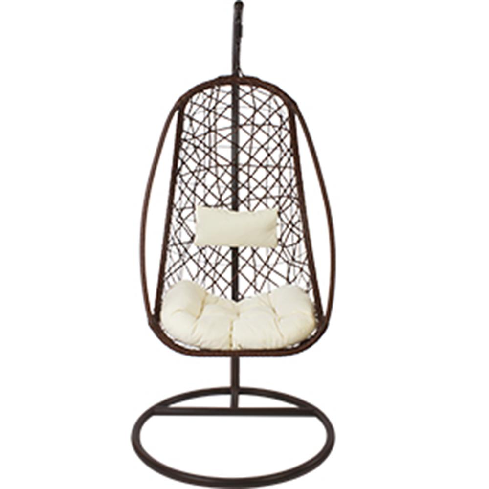 Buy Al Fresco Antigua Hanging Chair and Cushion at Home Bargains