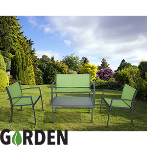 Buy Garden Coffee Table Chair Set At Home Bargains