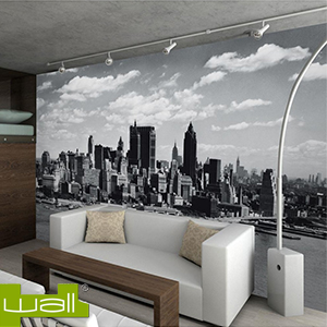 buy 1wall new york skyline giant wallpaper mural at home