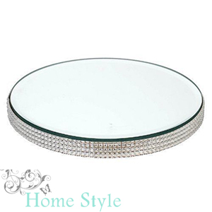 Buy home style diamante glass plate 21cm at home bargains picture of home style diamante glass plate 21cm junglespirit Image collections