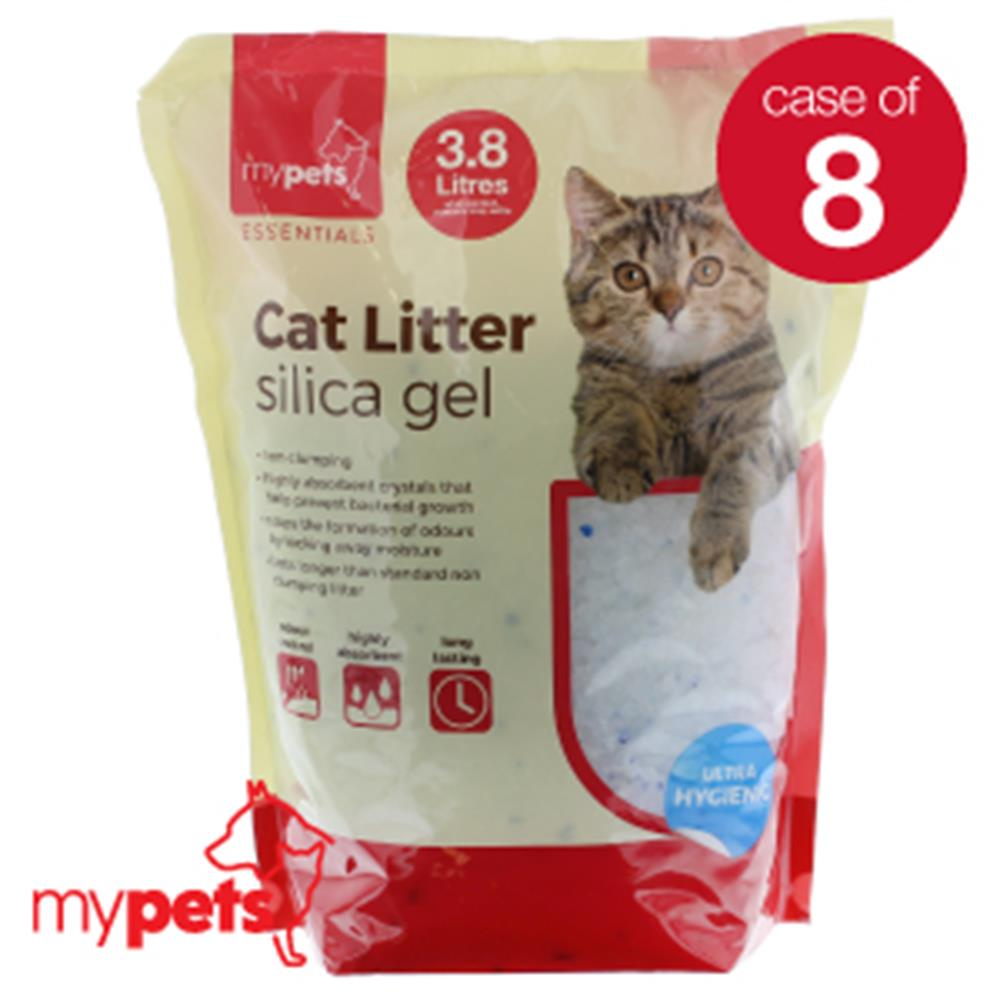 Picture of Silica Gel Cat Litter (Case of 8)