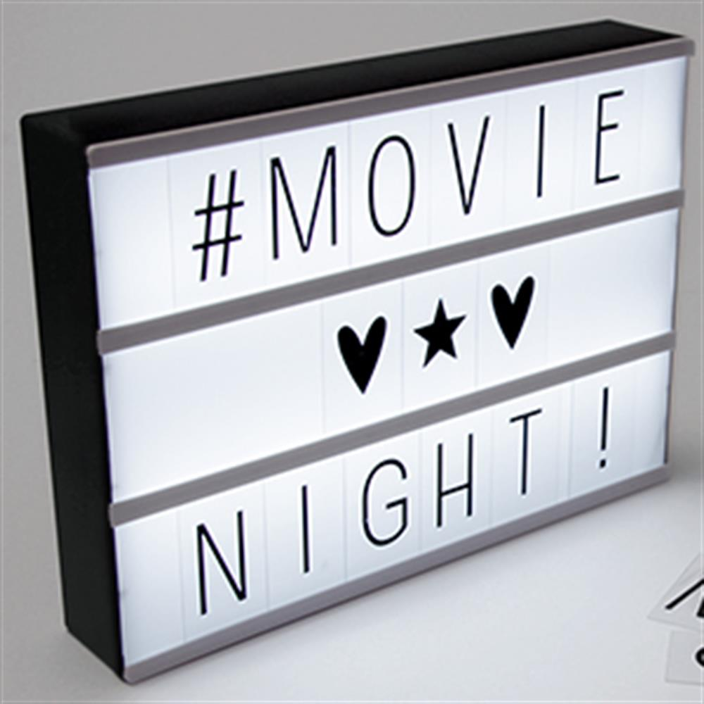 Picture of Cinema LED Lightbox