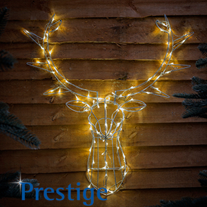 Buy stag head led wall mount at home bargains picture of stag head led wall mount mozeypictures Gallery