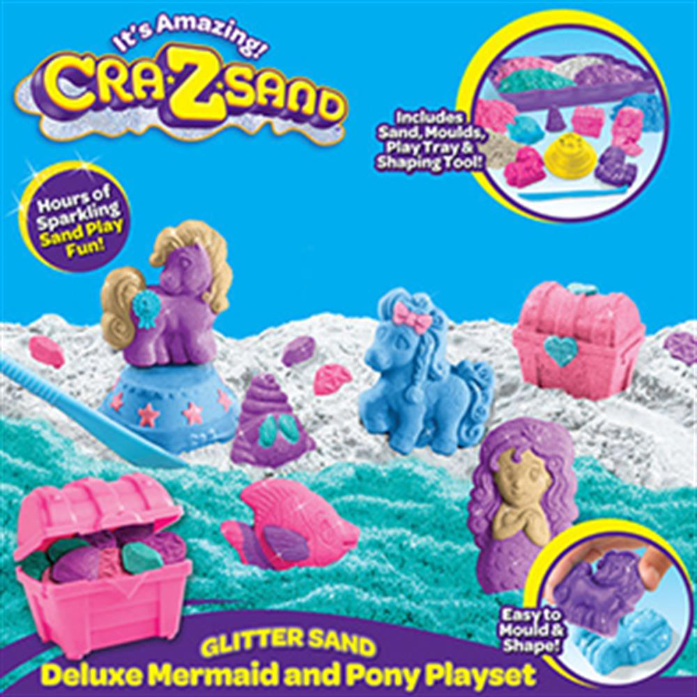 Picture of Cra-Z-Sand Deluxe Mermaid & Pony Playset