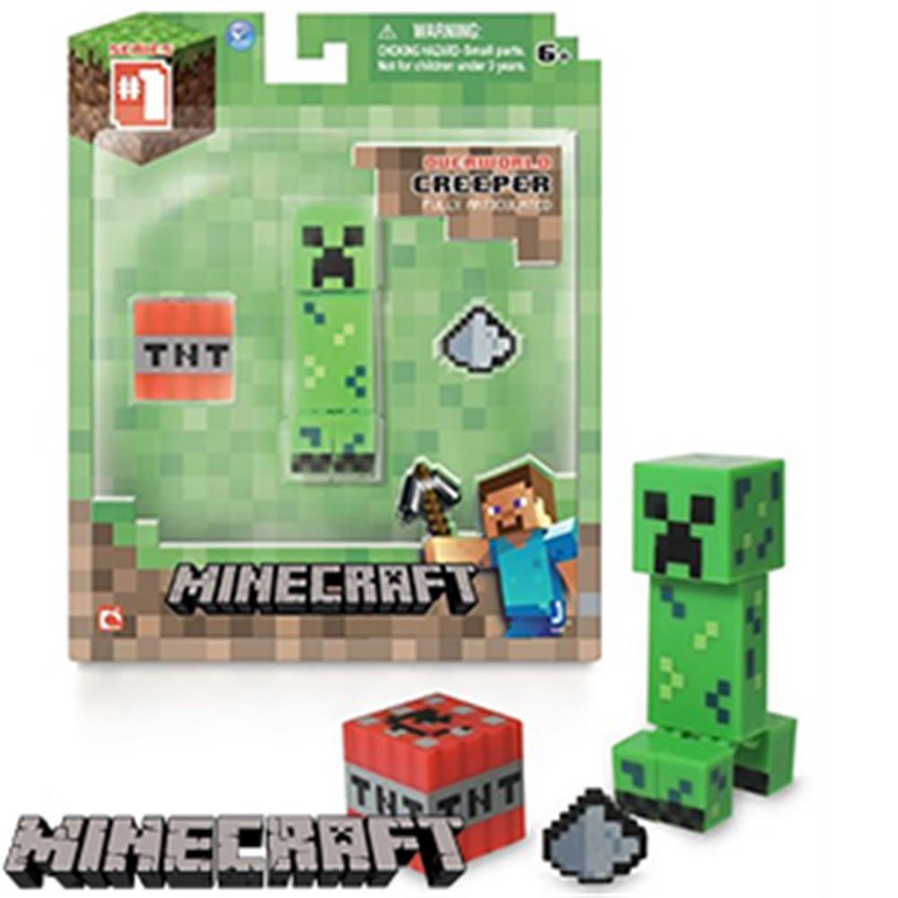 Buy Minecraft Overworld Series 12: Creeper at Home Bargains