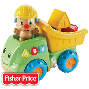 buy fisher price laugh learn puppy 39 s dump truck at home bargains. Black Bedroom Furniture Sets. Home Design Ideas