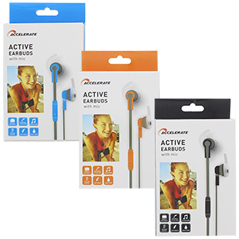 Picture of Accelerate Active Earbuds with Microphone