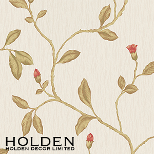 Buy Opus Wallcovering: Heavyweight Vinyl Harper Red at Home Bargains