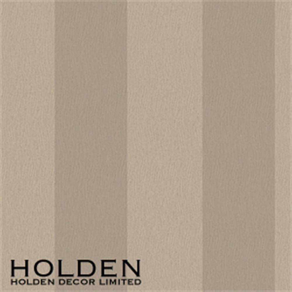 Picture of Statement Wallcovering: Harriet Stripe Taupe