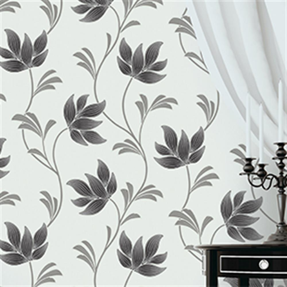 Picture of K2 Textured Wallcovering: Lottie Black