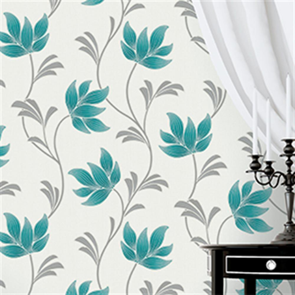 Picture of K2 Textured Wallcovering: Lottie Teal