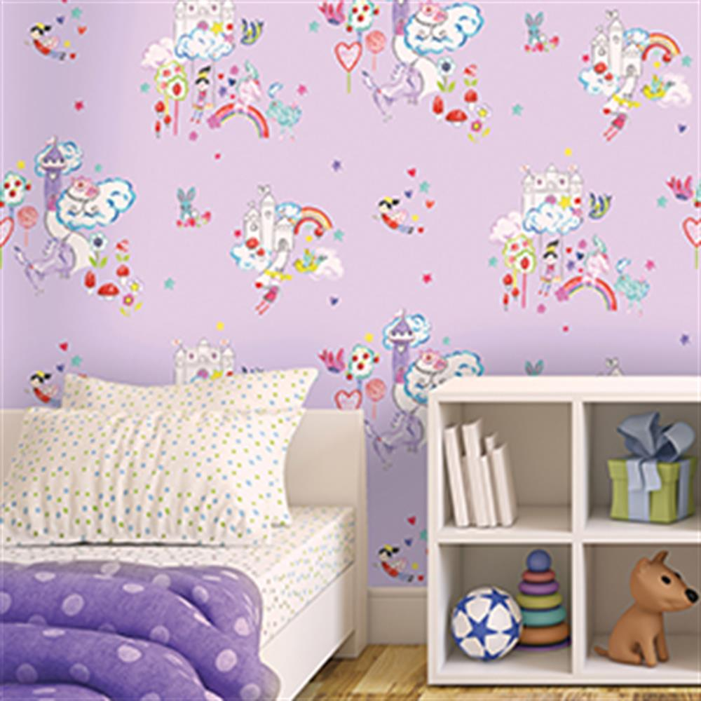 Picture of Kids Wallcovering: Lilac Wonderland