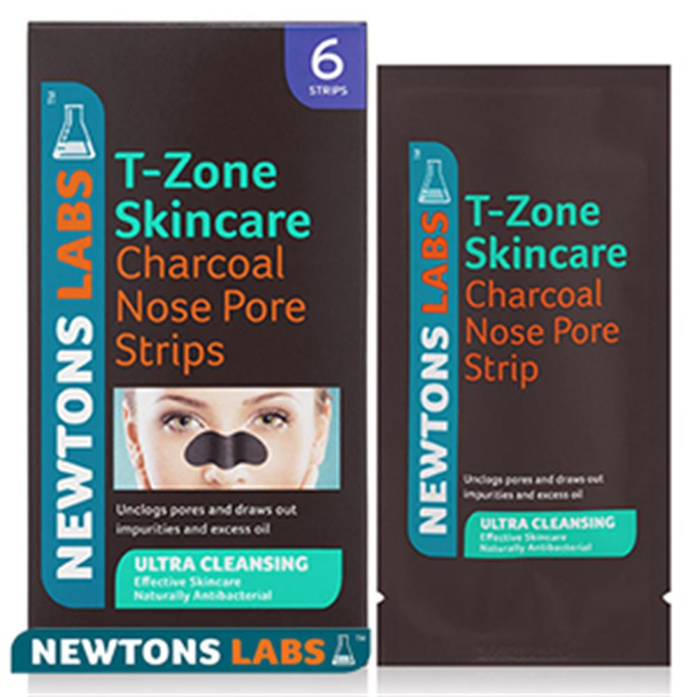Picture of T-Zone Charcoal Nose Pore Stripes (Case of 6 Boxes)