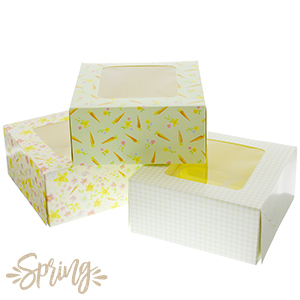 Picture of Easter Cupcake Boxes (Case 72 x Small Boxes)