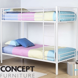 Buy Bolt Zero Bunk Bed At Home Bargains