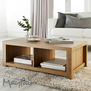 Buy Mayfair Chunky Coffee Table At Home Bargains