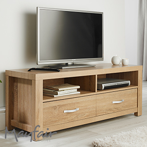 Buy Mayfair Chunky Tv Unit At Home Bargains