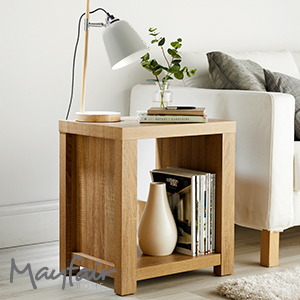 Buy Mayfair Chunky Side Table At Home Bargains