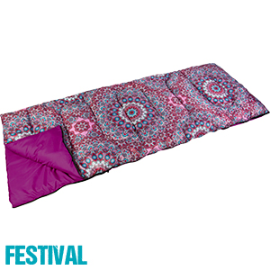 size 40 41a57 e12fe Buy Psychedelic Festival Sleeping Bag at Home Bargains