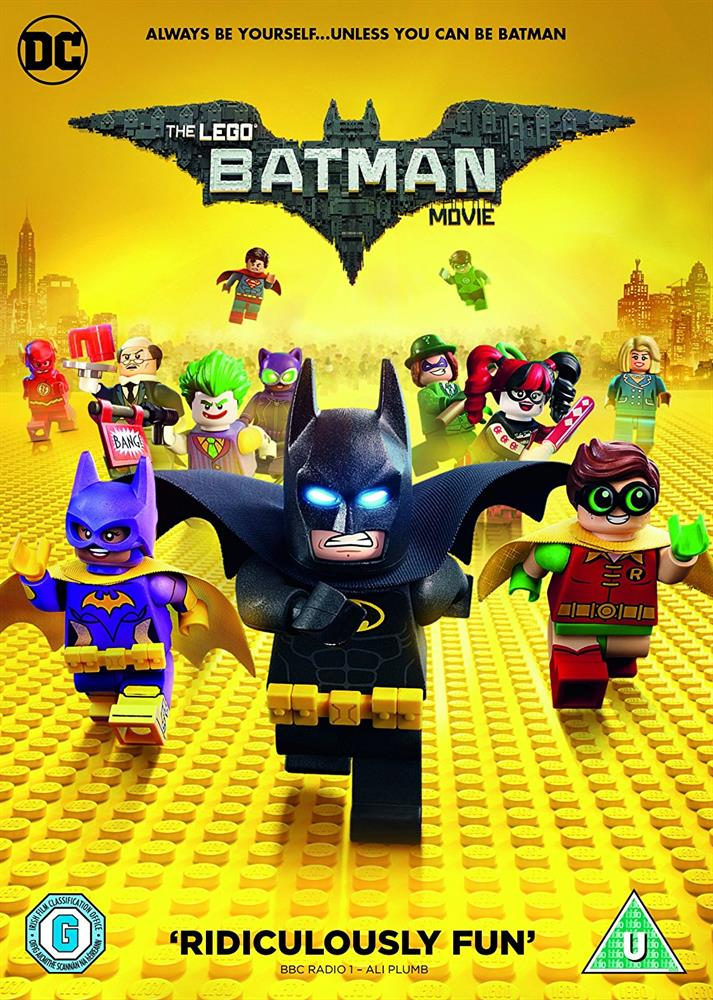 Picture of The LEGO Batman Movie DVD