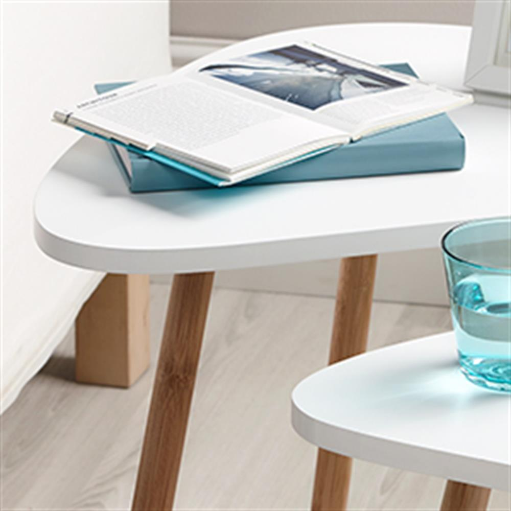 Picture of Loft Nesting Tables: Set of Two (White)