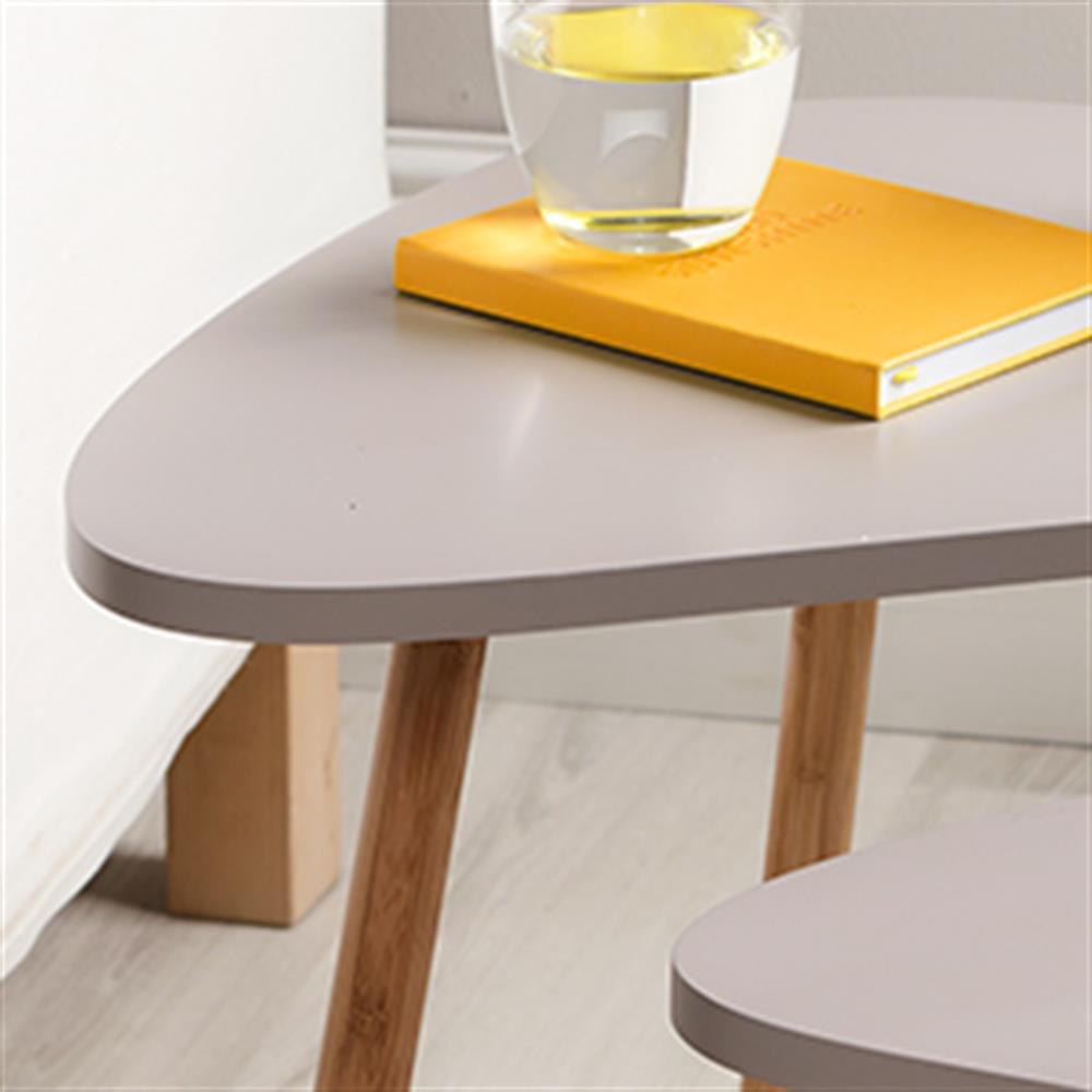 Picture of Loft Nesting Tables: Set of Two (Mink)