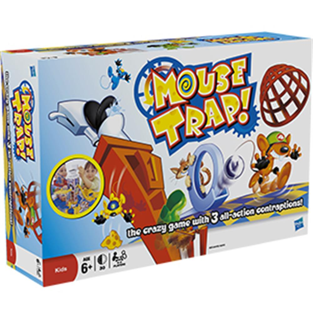 Buy Hasbro Mouse Trap Board Game At Home Bargains