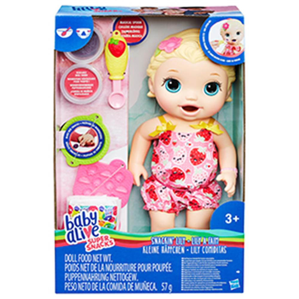 Picture of Baby Alive Super Snacks Snackin' Lily