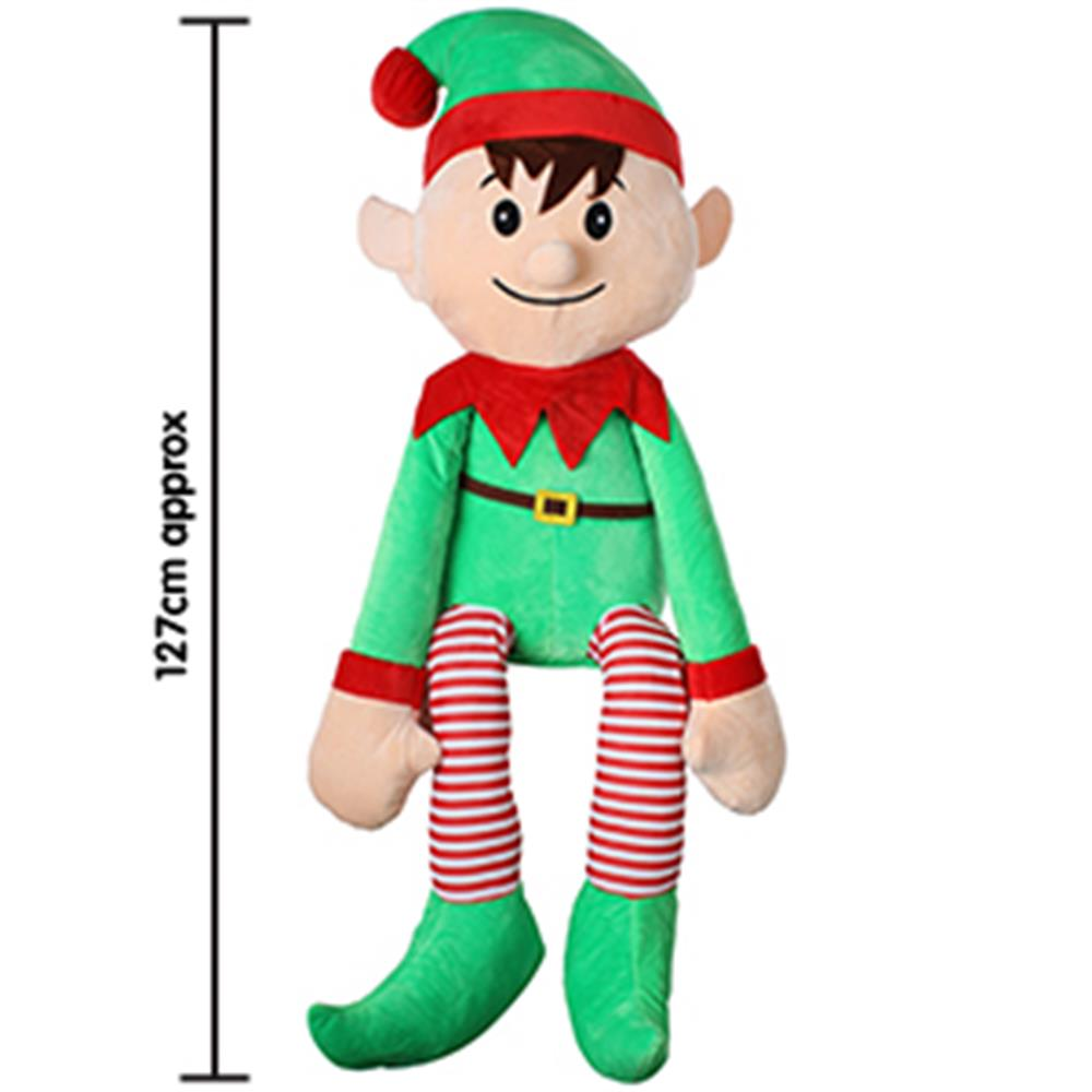 Picture of Novelty Elf Plush: Giant (1.2m)