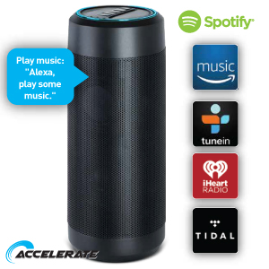 Buy Wireless Speaker with Amazon Alexa at Home Bargains