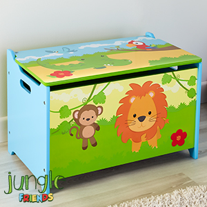 Picture of Jungle Friends: Wooden Toy Box
