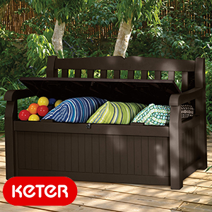 Buy Keter Iceni 2 In 1 Bench And Storage Chest At Home Bargains