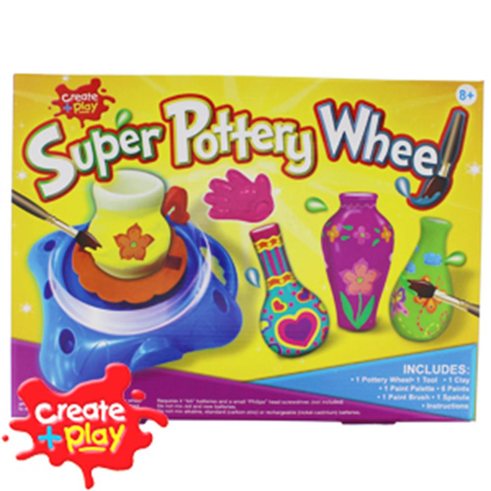 Picture of Create + Play: Super Pottery Wheel
