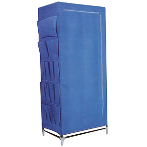 Buy multi storage wardrobe blue at home bargains picture of multi storage wardrobe blue gumiabroncs Image collections