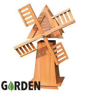 Picture of Garden Decorative Wooden Windmill