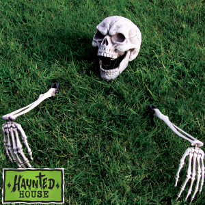 Picture of Haunted House Lawn Skeleton