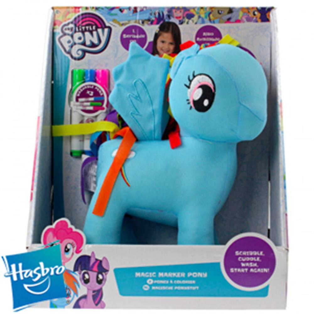 Picture of Hasbro My Little Pony Magic Marker Pony (Blue)