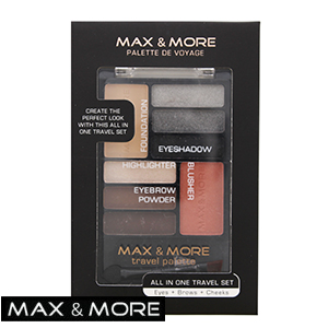 32246f321a Buy Max   More All in One Make-Up Travel Set at Home Bargains