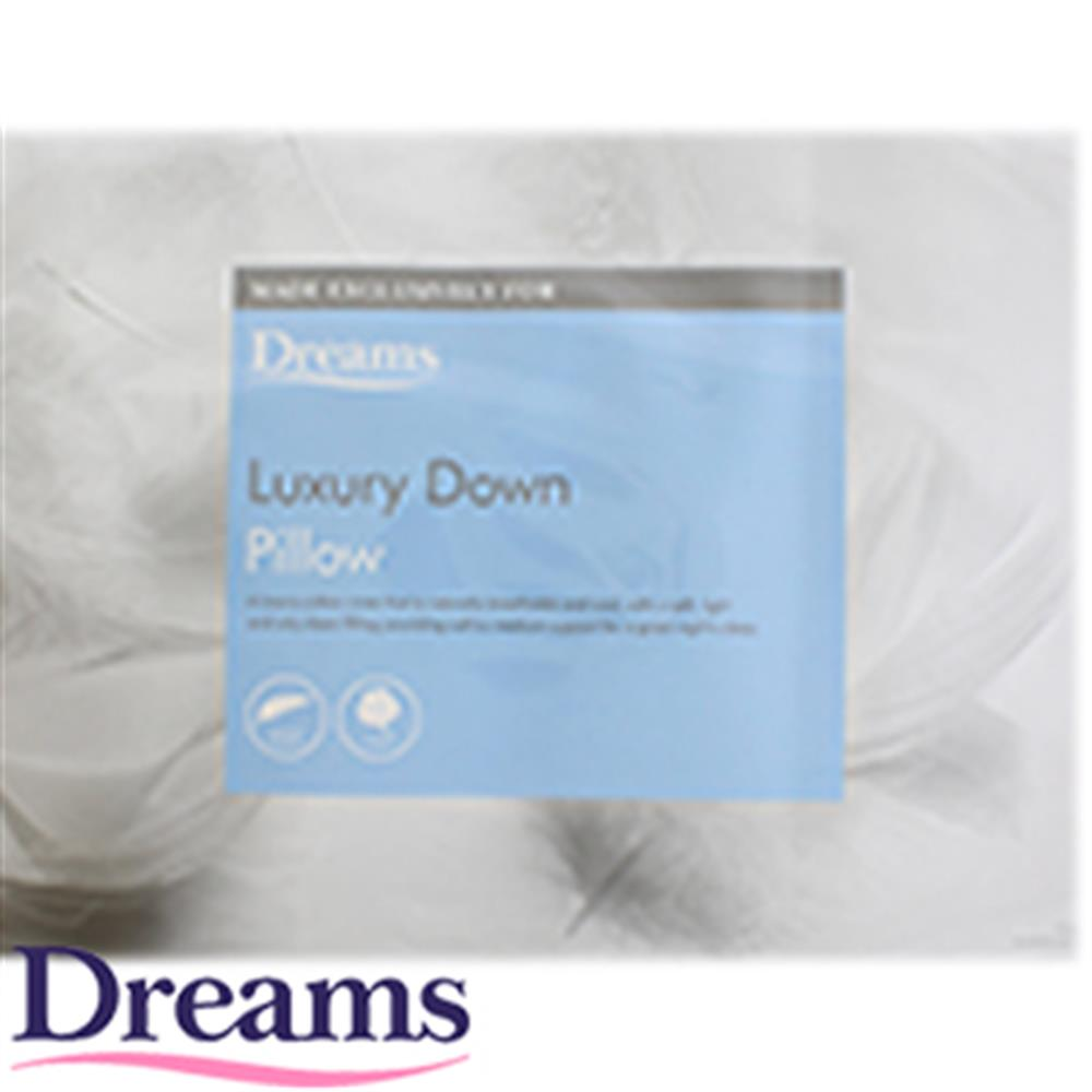 Dreams Luxury Down Pillow at Home Bargains