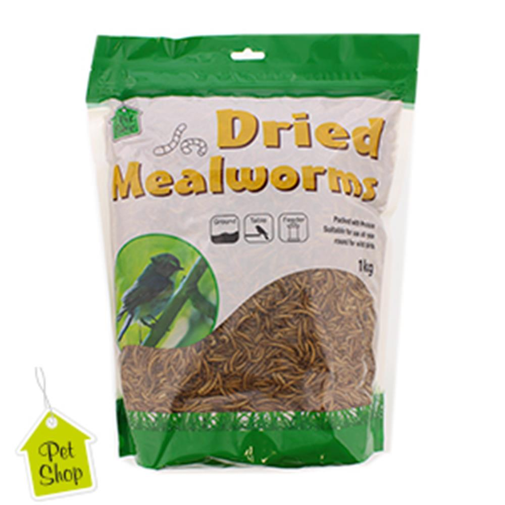 Picture of Dried Mealworms (1kg Bag)