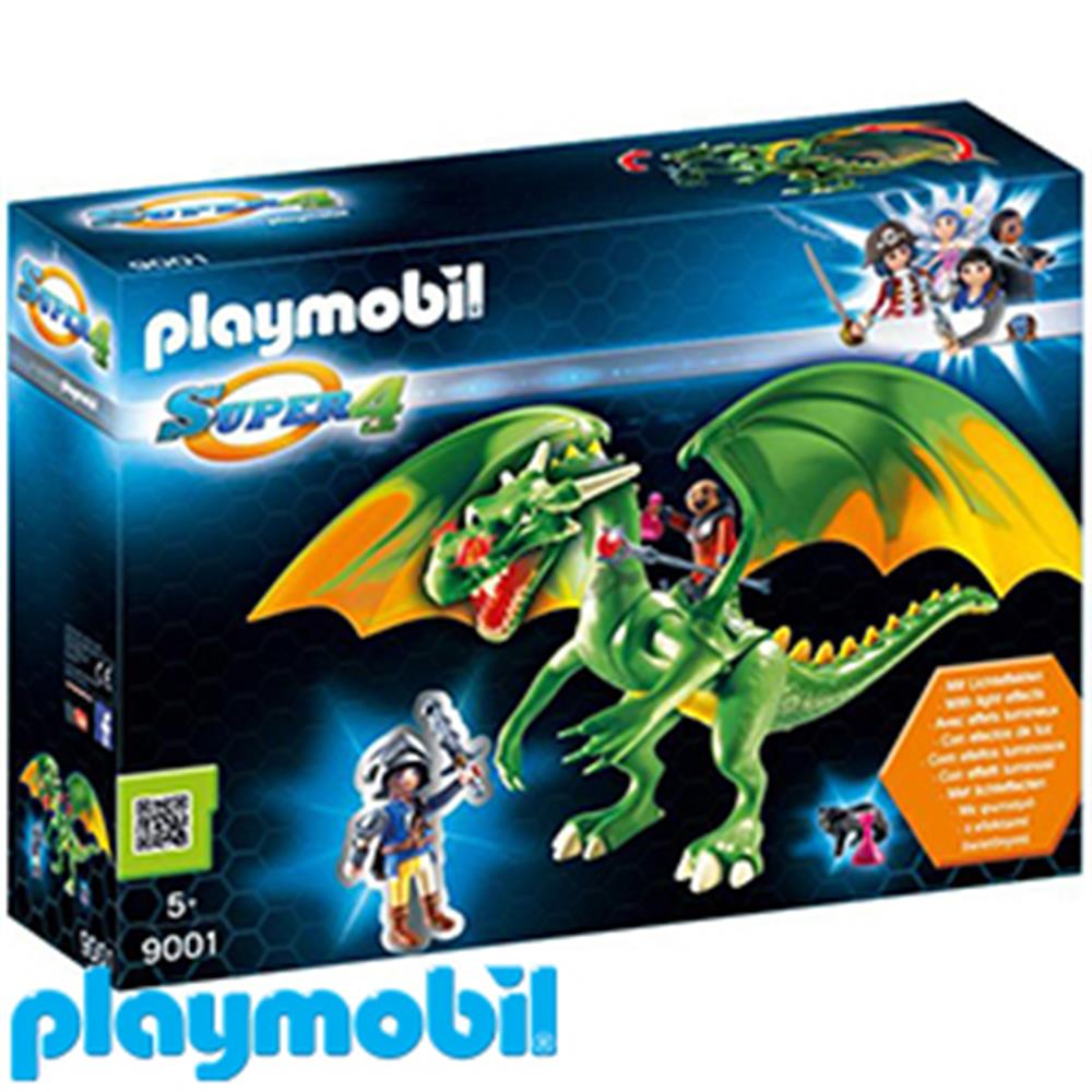 Picture of Playmobil Super 4: Kingsland Dragon with Alex (9001)